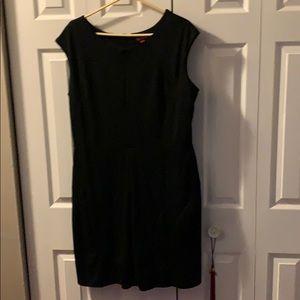 Plus little black dress fits your curves